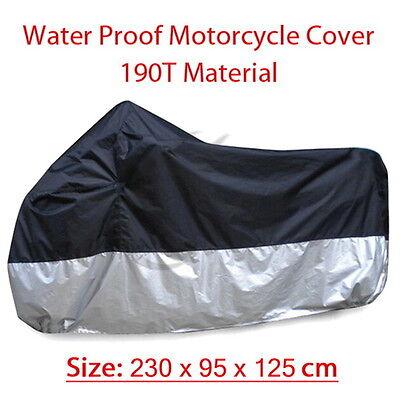 XL Size Motorcycle Cover Street Bikes Outdoor Indoor Protection Waterproof New