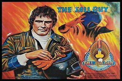 The Fall Guy Lee Majors Lunch Man Cave Decor Refrigerator Fridge Sign Tool Box
