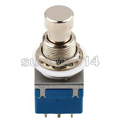 1//2//5//10PCS 9-pin Guitar Effects Pedal Box Stomp Bypass 3PDT Foot Metal Switch