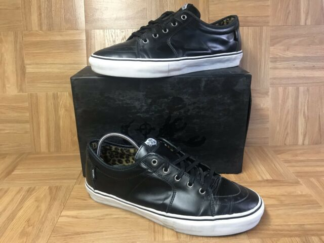 VANS Syndicate AV Sk8-low Ave Dill Black Leather Fking Awesome 13 RARE
