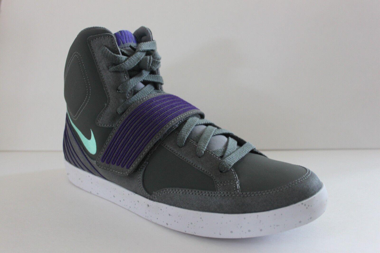 Nike Men's Skystepper Grey Purple Suede Synthetic Athletic Sneaker Shoe Size 11