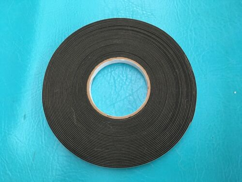 "12"" X 50' x 116"" Roll Neoprene Foam Press On Seal Tape P8106 Weather Sealant"