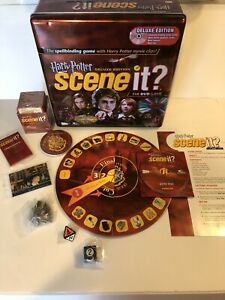Harry-Potter-Scene-It-Deluxe-Edition-2005-Metal-Tin-DVD-Game-NEW