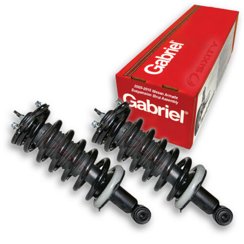 bb 2 pc Gabriel Front Fully Loaded Strut for 2005-2015 Nissan Armada