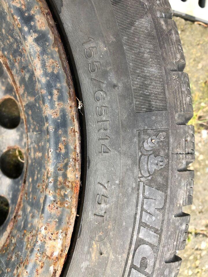 Vinterdæk, Michelin, 155 / 65 / R14