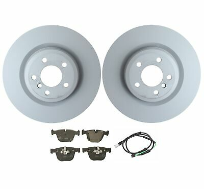 For BMW 550i GT 750i xDrive Front Left /& Right Disc Brake Rotors Brembo Set