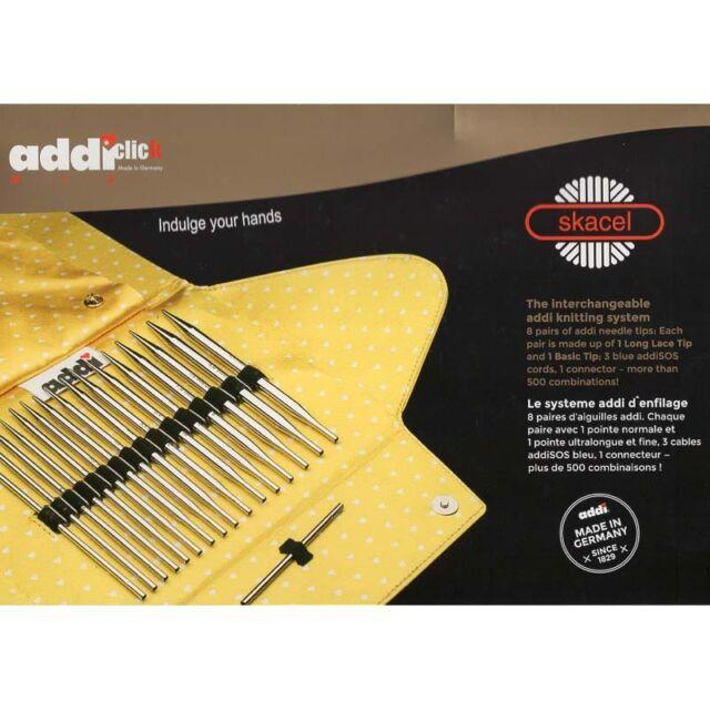 Addi ::Click Mix Lace/Basic Interchangeable Circular Knitting Needle System::