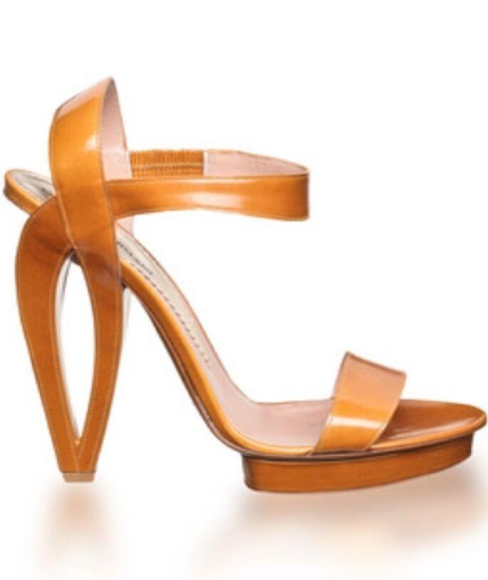 Emporio Armani Runway Black Sandals 6.5 Original Price  750