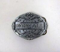 Farmall Oval Western Style Belt Buckle