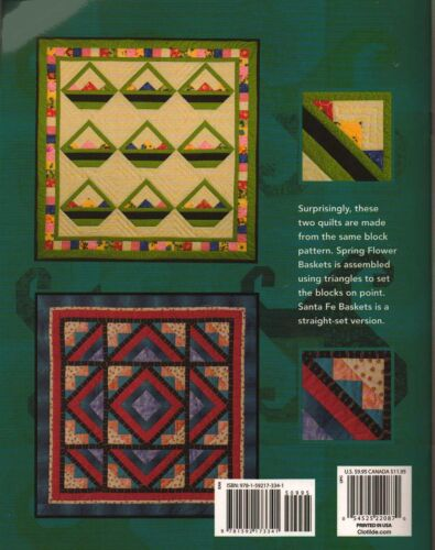 Learn to Make Foundation-Pieced Quilt 6 Distinctive How-to Quilting Pattern Book