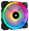 Corsair-LL120-Dual-Light-Loop-PWM-Fan-120mm-RGB-LED thumbnail 1