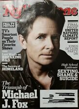 Rolling Stone Magazine Issue 1192 September 26, 2013 Michael J Fox Free shipping