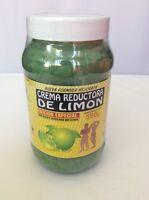 Crema Reductora De Limon Bote 18oz. Lemon Body Wrap Cream