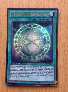 "/""Le Sceau d/'Orichalque/"" LC03-EN001 ULTRA RARE Yu-Gi-Oh"