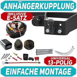 Fuer-Ford-TRANSIT-Kasten-BUS-06-13-Anhaengerkupplung-starr-E-SATZ-13-polig-ABE