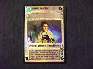 Star Wars CCG Reflections II Foil Lando In Millenium Falcon