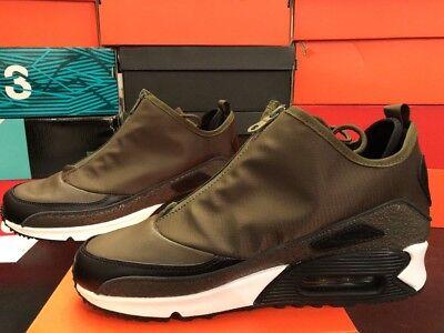 Men's Nike Air Max 90 Utility Dark LodenBlackOlive Size 9 Rare 858956 300 | eBay