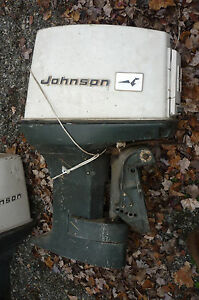 Used johnson evinrude omc 55 hp outboard motor engine for for 55 johnson outboard motor