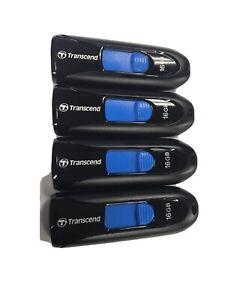 4 Pack Transcend 16GB Jetflash 790 3.1 USB Memory Flash Thumb Storage Drive x.