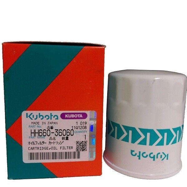 2PK Genuine OEM Kubota Hydrostatic Oil Filter F-Series B-Series HH660-36060