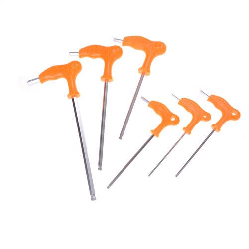 T handle allen hex key wrench spanner hand tool 3~8mm Best wlPlo