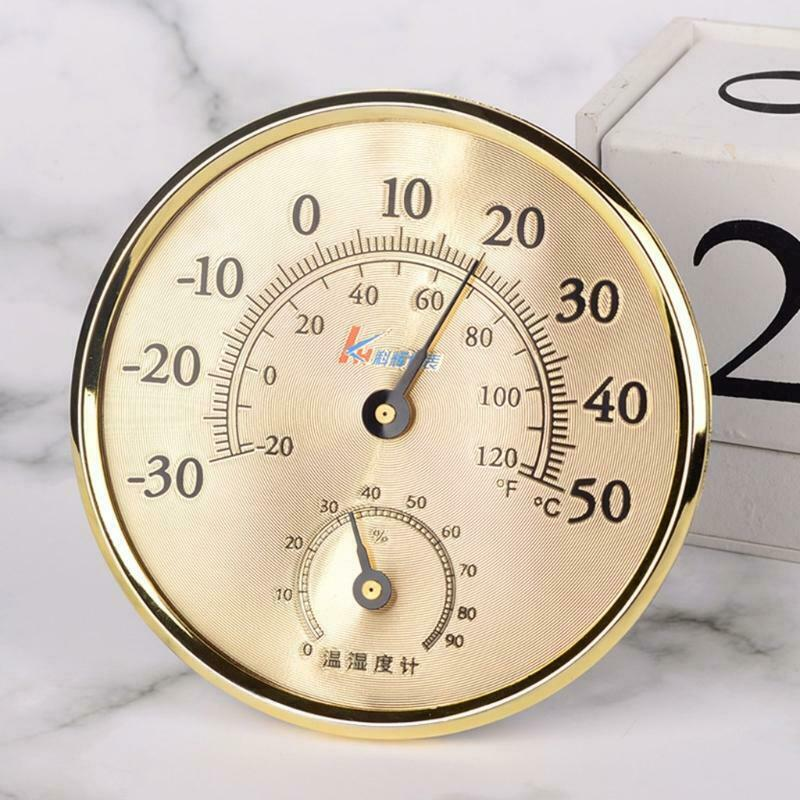 Indoor Thermometer Hygrometer No-battery-needed Temperature Humidity Meter C/F