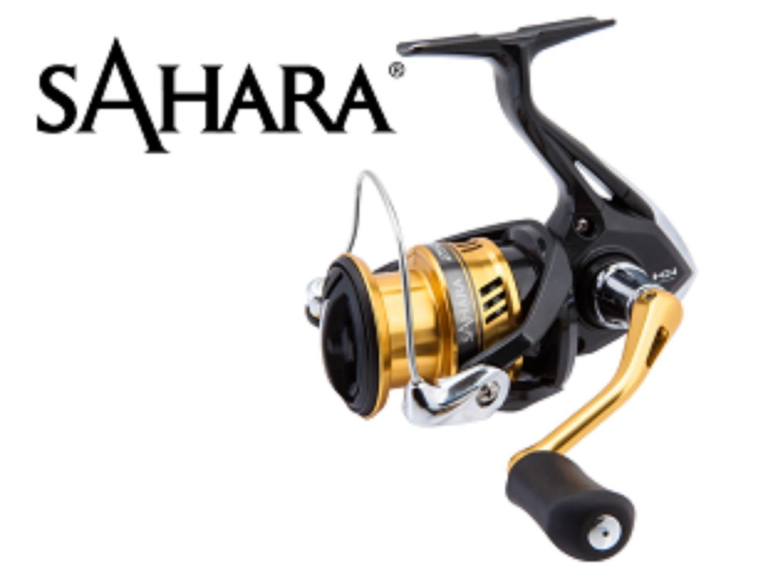 NEW Shimano Sahara Drag, 2500 Spinning Reel, Front Drag, Sahara 4BB + 1RB , 5.0:1 SH2500FI 98a409