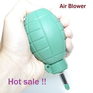 Rubber-Green-Bomb-Style-Air-Blower-Surface-Dust-Cleaner-f-Photograph-Instruments