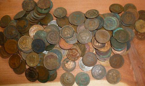 1859-1909  Indian Head Pennies  Cents Vintage Collection Rare Estate Sale