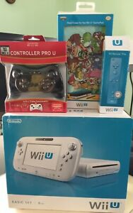 Nintendo Wii U Basic 8GB with 92 Games and Accessories