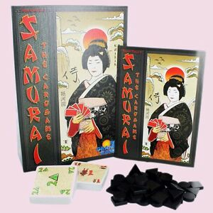 SAMURAI THE JAPANESE STRATEGY CARD GAME RIO GRANDE AGE 12 BRAND NEW - Llandysul, Carmarthenshire, United Kingdom - If you are not totally happy with your purchase please contact us and we will do our very best to rectify the problem. Please don't be afraid to call or mail - we are friendly and our customers satisfaction alw - Llandysul, Carmarthenshire, United Kingdom
