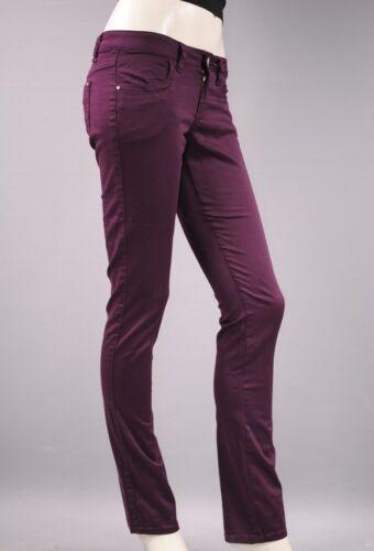 DAMEN HOSE Baumwolle Stretch Stretchose hüfthose chinos treggings jeans kt013