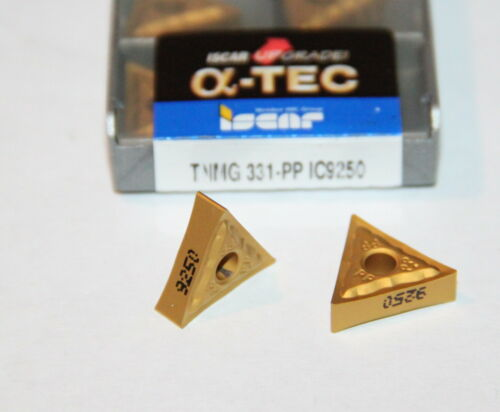 TNMG 331 PP IC9250 ISCAR *** 10 INSERTS *** FACTORY PACK ***