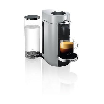 DeLonghi Nespresso ENV155.S Vertuo Plus Deluxe Kapselmaschinen Silber / Schwarz