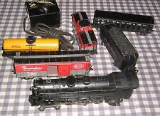 Vintage Marx 4-6-2 Die-Cast 333 Locomotive,NYC Train Set,1249 Transformer,Works