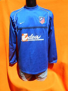 ATLETICO-MADRID-Jersey-Maillot-Camiseta-2001-2002-Goalkeeper-True-Vintage-Nike