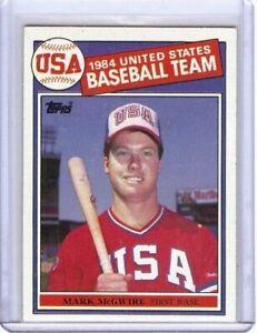 Mark-Mcgwire-1985-85-Topps-Baseball-Rc-Rookie-Card-A