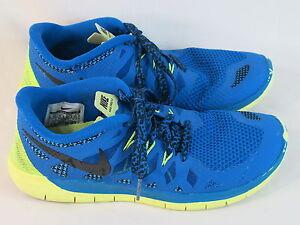 Nike Free 5 Pre School Youth Boy/'s //Girl/'s Kids Navy//Polarized Blue Running Shoe