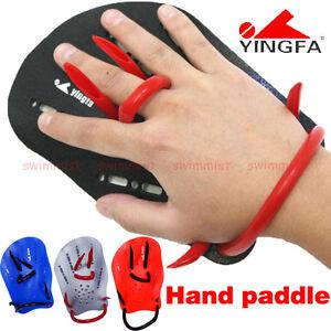NEW! YINGFA SWIM TRAINING HAND PADDLES SWIM TRAINING AIDS SIZE S M L <FREE SHIP>