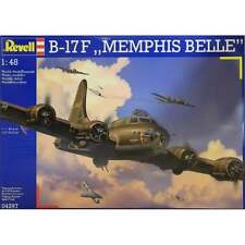 Revell 1:48 Scale B-17F Flying Fortress Memphis Belle Model Aircraft Kit - 04297