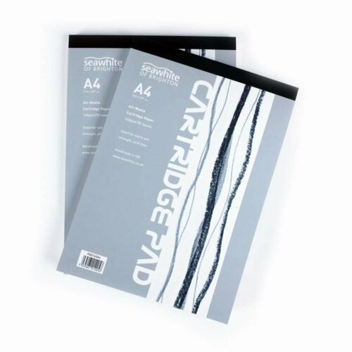 Seawhite of Brighton All Media Cartridge Paper Pads for Drawing & Painting