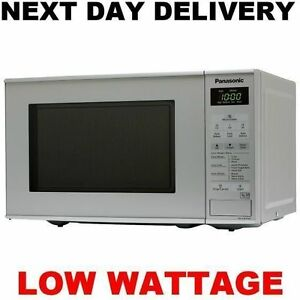 Image Is Loading New Panasonic Low Watt Wattage Digital Microwave Oven