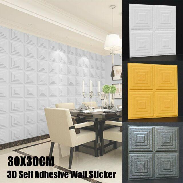 3D Charm Mirror Self Adhesive Waist Skirting Line Wall Sticker DIY Home Decor Co