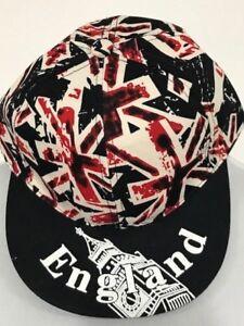 Caricamento dell immagine in corso Cappello-Nero-Berretto-da-baseball-di- Londra-Souvenir- 2ba981f0b73a