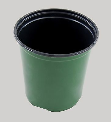One Gallon Trade Pot  Green Plastic Shuttle Plant/Flower Pots  270 pots per case