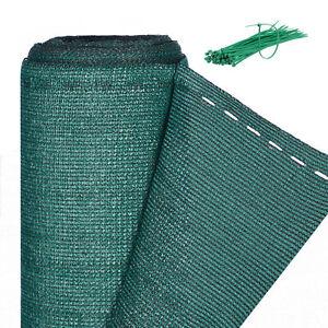 Zaunblende grün 1m hoch, Sichtschutz Gartenzaun, Zaunsichtschutz, HDPE 150g/m²