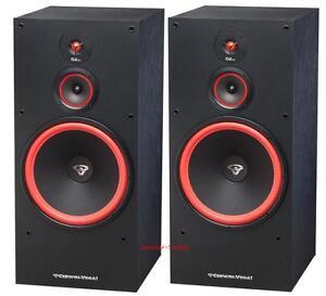 Pair cerwin vega sl 15 15 3 way floor standing tower for 15 floor speakers