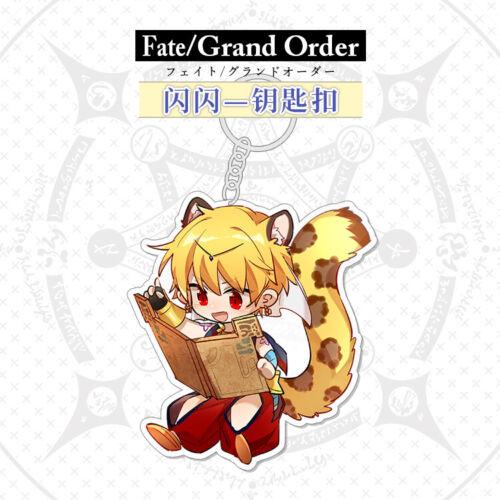 Fate//Grand Order FGO Gilgamesh Cú Chulainn Emiya Karna Merlin Acrylic Keychain