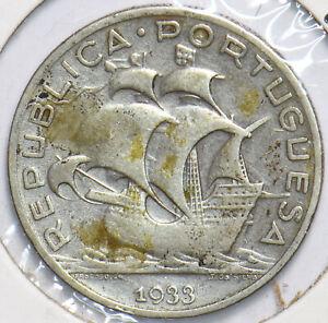Portugal 1933 5 Escudos 192503 combine shipping
