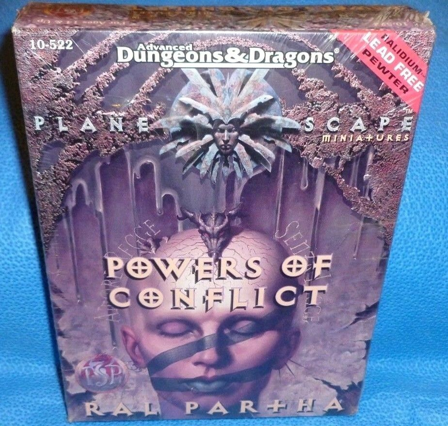 Planescape Powers of Conflict Ral Partha NIB SEALED (Dungeons & Dragons) AD&D
